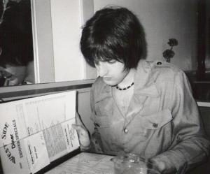 Ben at the diner